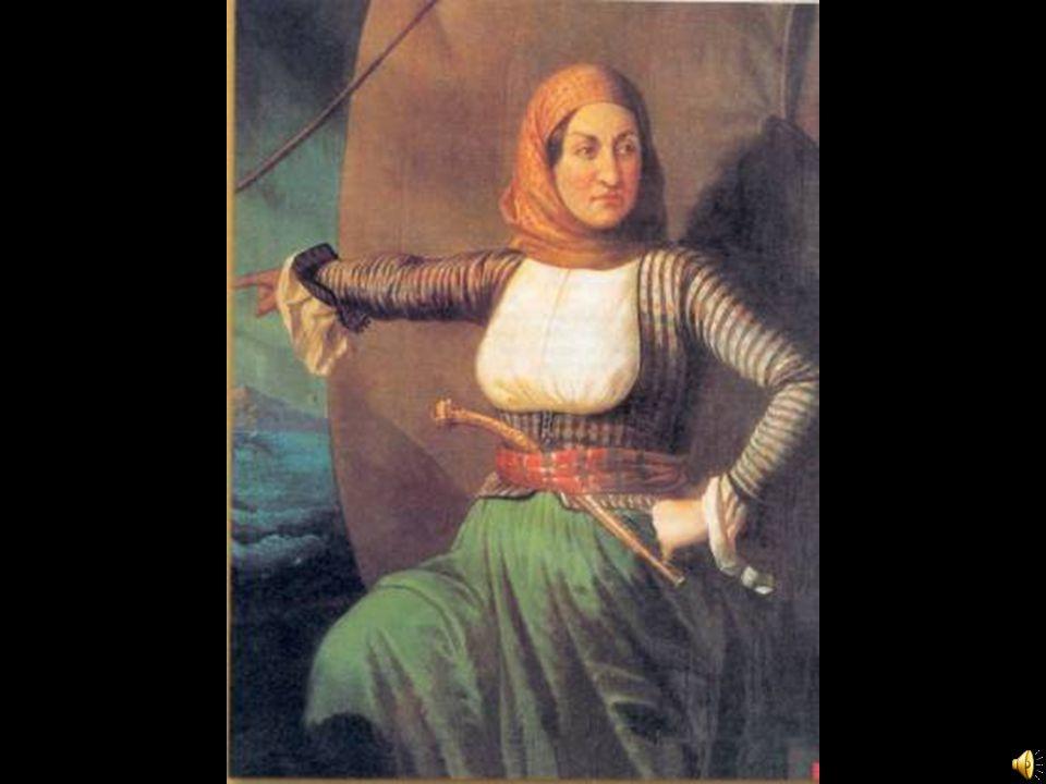 . Η Μπουμπουλίνα μυήθηκε στη Φιλική Εταιρεία και, όταν ξαναγύρισε στις Σπέτσες, ναυπήγησε με δικά της χρήματα τη φρεγάτα