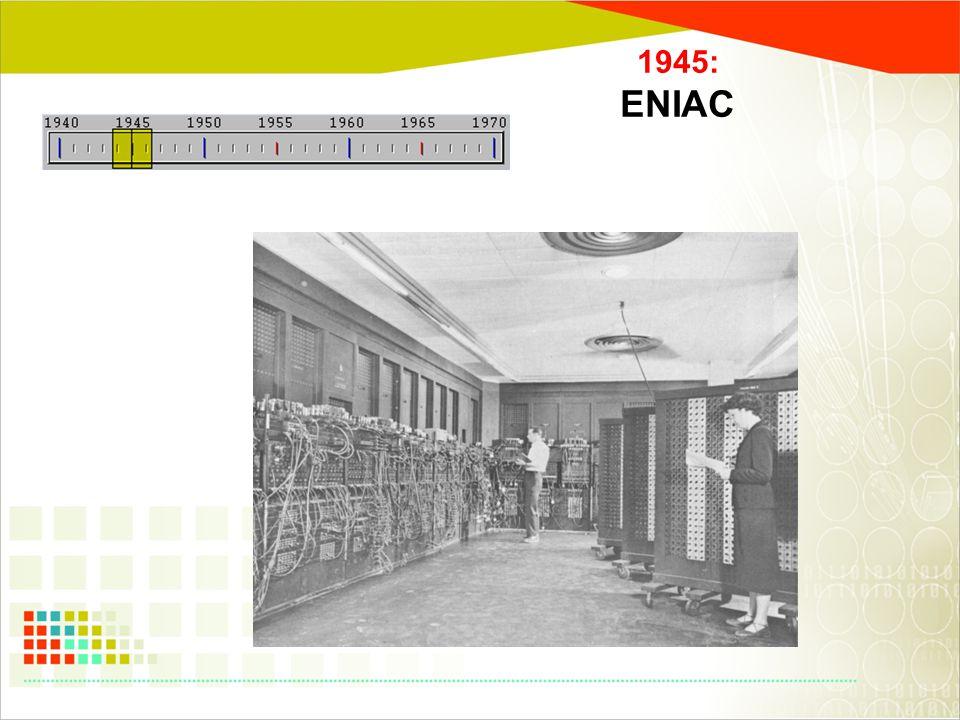 1945: ENIAC