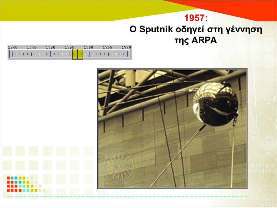 1957: Ο Sputnik οδηγεί στη γέννηση της ARPA