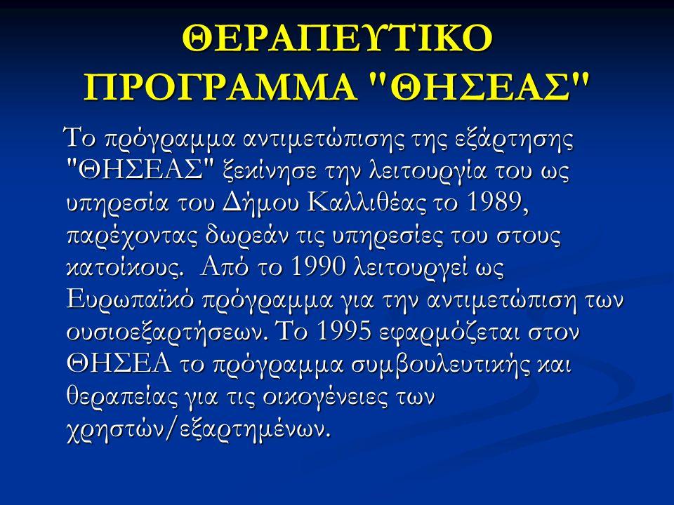 ΘΕΡΑΠΕΥΤΙΚΟ ΠΡΟΓΡΑΜΜΑ
