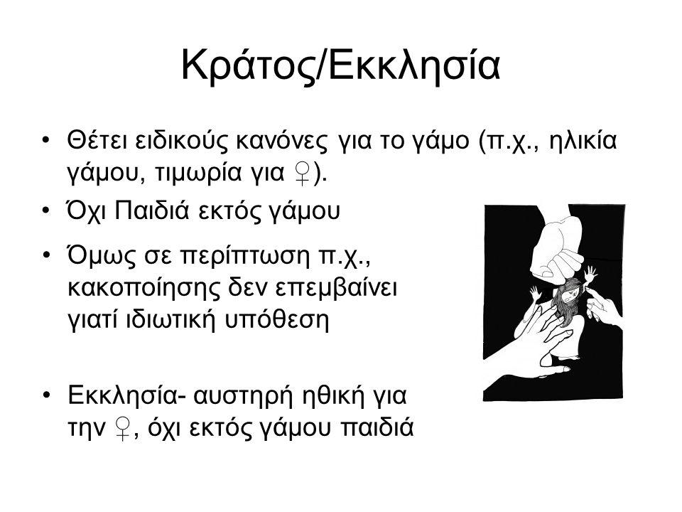 Εργασία Μαζική Έξοδος των ♀ στην αγορά εργασίας/ όμως: –νομικά εμπόδια π.χ.,(1908 οι τηλεφωνήτριες και απολύονται από την υπηρεσία τους/ –Τράπεζες υπάλληλοι αυτοδικαίως παραιτηθείσες σε περίπτωση γάμου –1930 - όχι δικαίωμα άσκησης εμπορίου χωρίς την συναίνεση του συζύγου!).