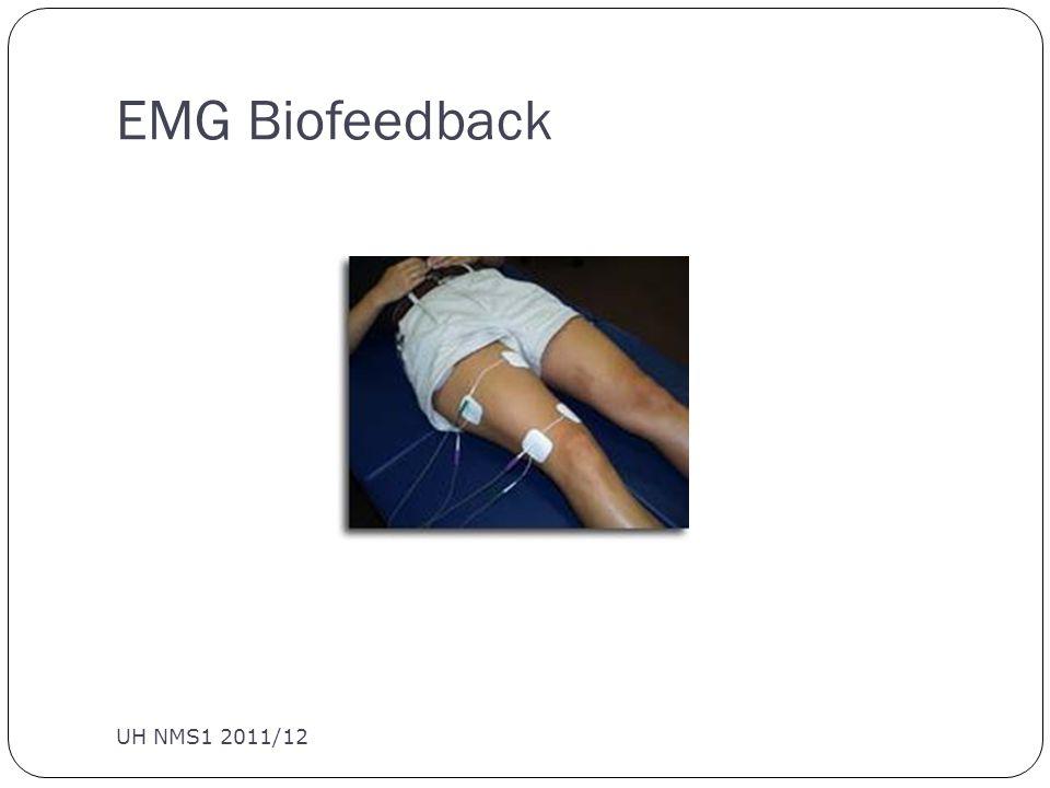 EMG Biofeedback UH NMS1 2011/12