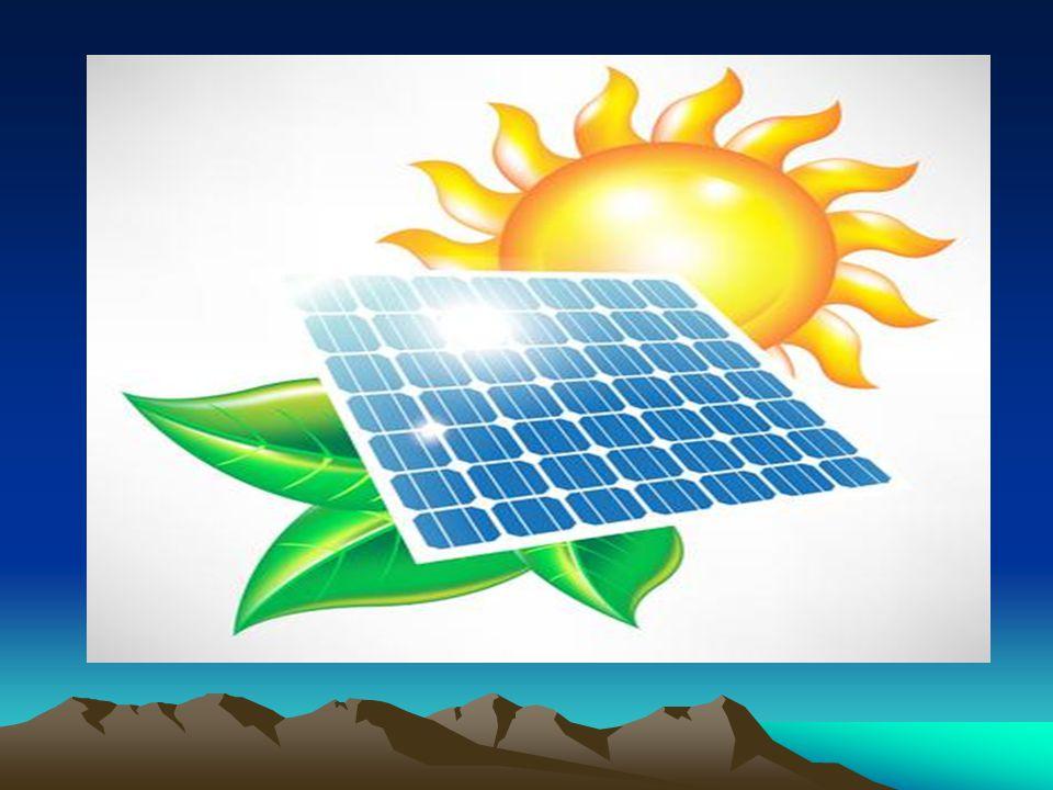 Ηλιακή ενέργεια Η ηλιακή ενέργεια είναι καθαρή, ανεξάντλητη, ήπια και ανανεώσιμη.