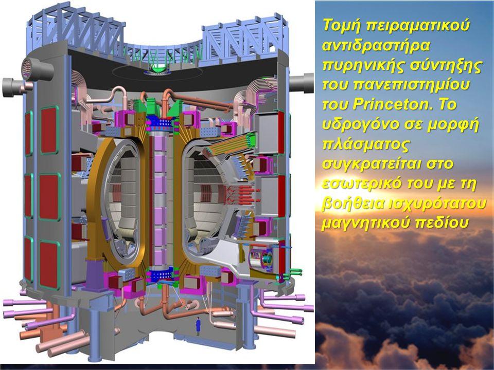 Πυρηνικά απόβλητα Τα πυρηνικά απόβλητα ενός αντιδραστήρα είναι ραδιενεργά με πολύ μεγάλους χρόνους υποδιπλασιασμού Η διαχείριση των πυρηνικών αποβλήτων αποτελεί ένα σημαντικό πρόβλημα της εποχής μας Ένα σημαντικό πλεονέκτημα των αντιδραστήρων σύντηξης είναι ότι τα ραδιενεργά κατάλοιπα που αφήνουν είναι σχετικά λίγα και με μικρούς χρόνους υποδιπλασιασμού (τις τάξης μερικών ωρών)