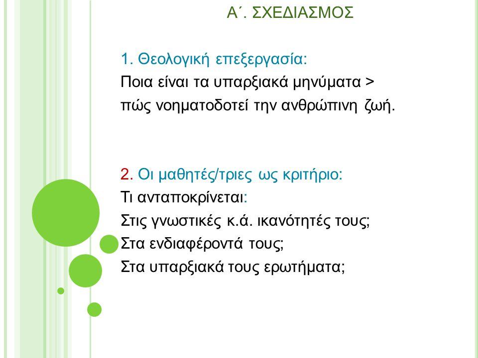 A΄. ΣXEΔIAΣMOΣ 1.