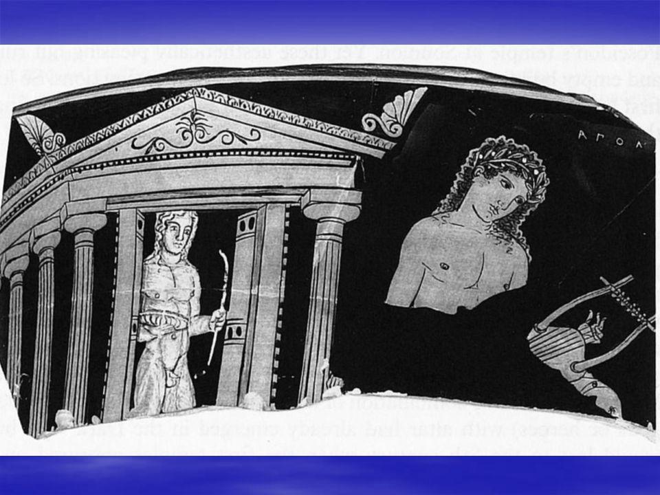Εξέλιξη των ναών: Από ένα πλινθόκτιστο ή ξύλινο ιερό χωρίς στέγη για να φεύγει ο καπνός των θυσιών στην κατασκευή από πωρόλιθο ή μάρμαρο.