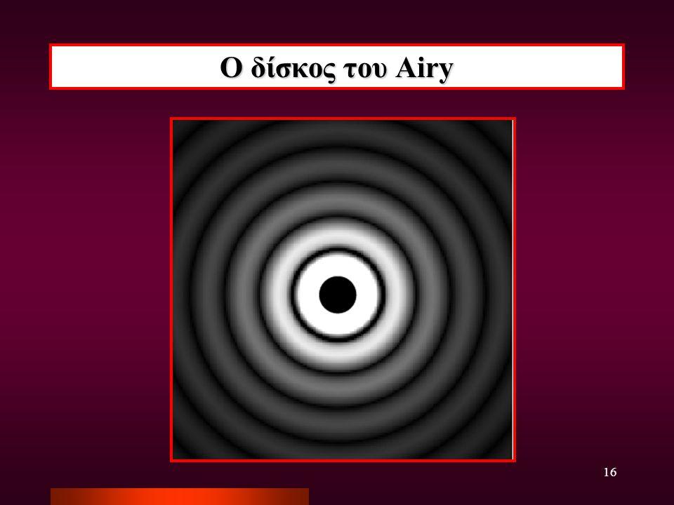 16 Ο δίσκος του Airy