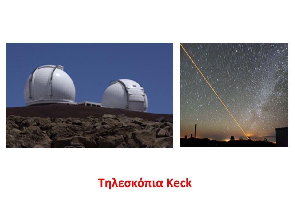 Ο κατάλογος σύγχρονων οπτικών τηλεσκοπίων θα ήταν ελλιπής χωρίς το περίφημο διαστημικό τηλεσκόπιο Hubble της Nasa το οποίο, αν και έχει πολύ μικρότερη διάμετρο (κάτοπτρο διαμέτρου 2,4 μέτρων), από τα μεγαλύτερα γήινα τηλεσκόπια, έχει συνεισφέρει μερικές από τις σημαντικότερες ανακαλύψεις στην Αστροφυσική τα τελευταία 15 χρόνια, υποβοηθούμενο από την απουσία της ατμόσφαιρας που αποτελεί τον μεγαλύτερο εχθρό των γήινων τηλεσκοπίων, παρά της γήινες επαναστατικές μεθόδους που εφαρμόζονται για την αντιμετώπισή της.