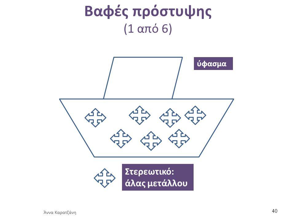 Βαφές πρόστυψης (1 από 6) Στερεωτικό: άλας μετάλλου ύφασμα Άννα Καρατζάνη 40