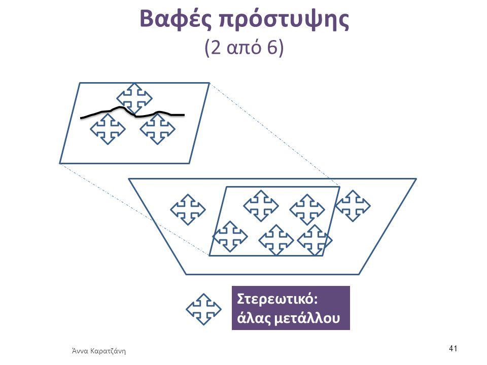 Βαφές πρόστυψης (2 από 6) Στερεωτικό: άλας μετάλλου Άννα Καρατζάνη 41