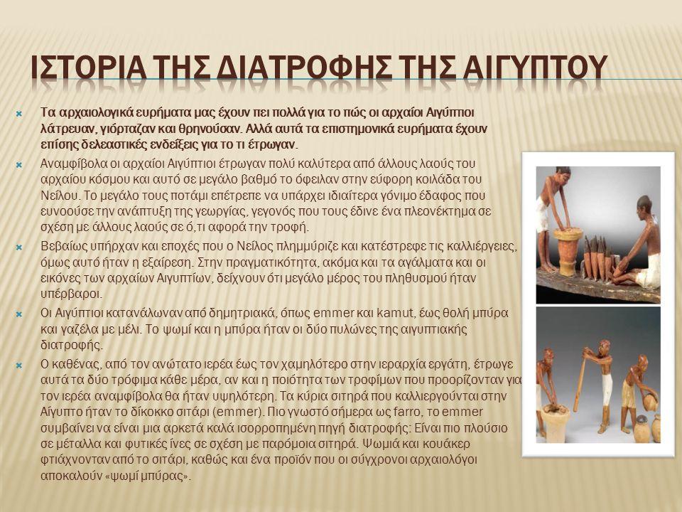  Τα αρχαιολογικά ευρήματα μας έχουν πει πολλά για το πώς οι αρχαίοι Αιγύπτιοι λάτρευαν, γιόρταζαν και θρηνούσαν.