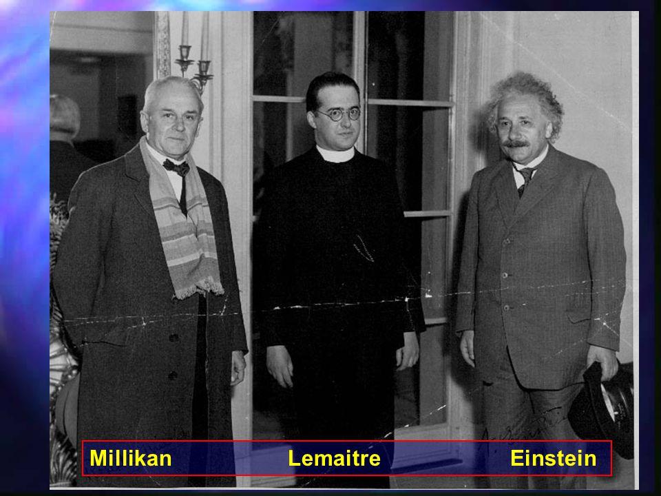 8 Η διαστολή του Σύμπαντος 1929 – Edwin Hubble Χρησιμοποιώντας παρατηρήσεις γαλαξιών από το τηλεσκόπιο 2.5m του Mt.