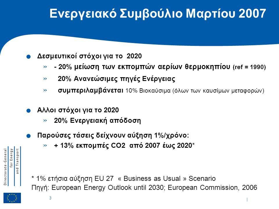 | 3 Ενεργειακό Συμβούλιο Μαρτίου 2007.
