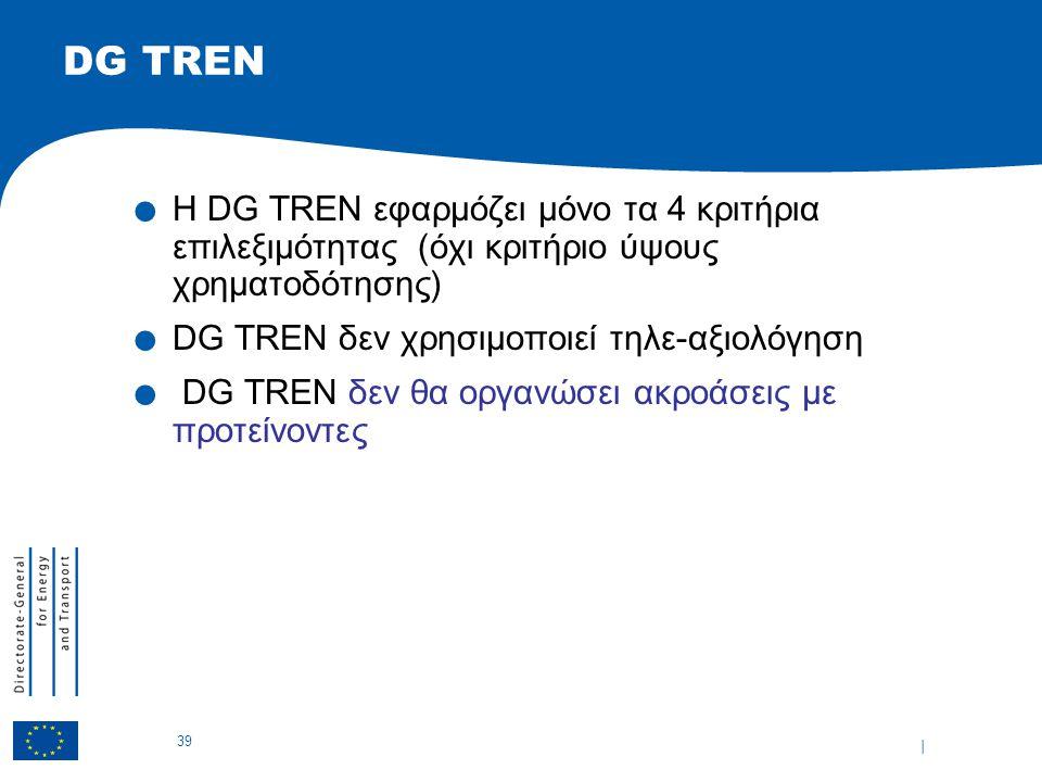 | 39 DG TREN.