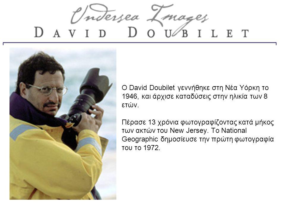 Ο David Doubilet γεννήθηκε στη Νέα Υόρκη το 1946, και άρχισε καταδύσεις στην ηλικία των 8 ετών.