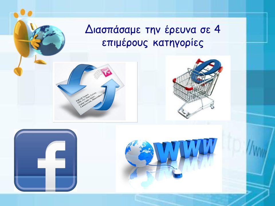 Το θέμα: Ασφάλεια στο Διαδίκτυο Η αφορμή: Ο πρώτος επετειακός εορτασμός των 10 χρόνων από την καθιέρωση της Ημέρας Ασφαλούς Διαδικτύου στις 5 Φεβρουαρίου 2013 Ο στόχος: Εντοπισμός Διαδικτυακών Κινδύνων και Καταγραφή Τρόπων Προστασίας Τα μέσα: Έρευνα στο Διαδίκτυο, στα μέσα ενημέρωσης, καταγραφή προσωπικών εμπειριών των μαθητών