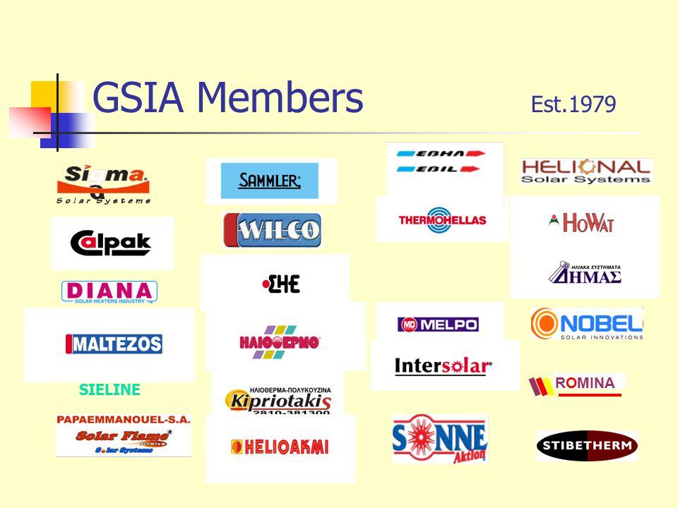 GSIA Members Est.1979 ROMINA SIELINE