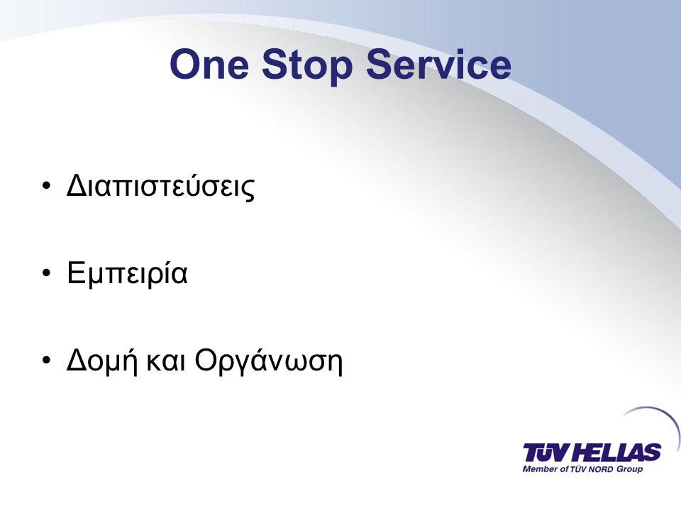 One Stop Service ΣΑΣ ΕΥΧΑΡΙΣΤΩ