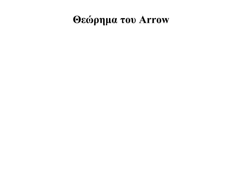 Θεώρημα του Arrow