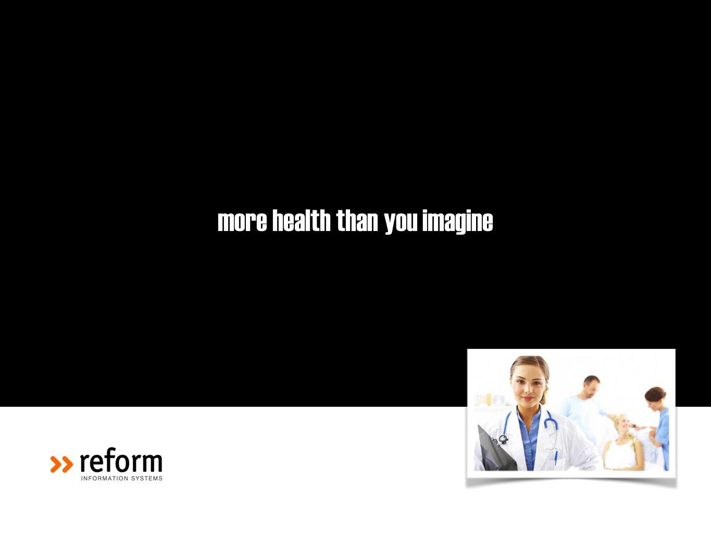more health than you imagine