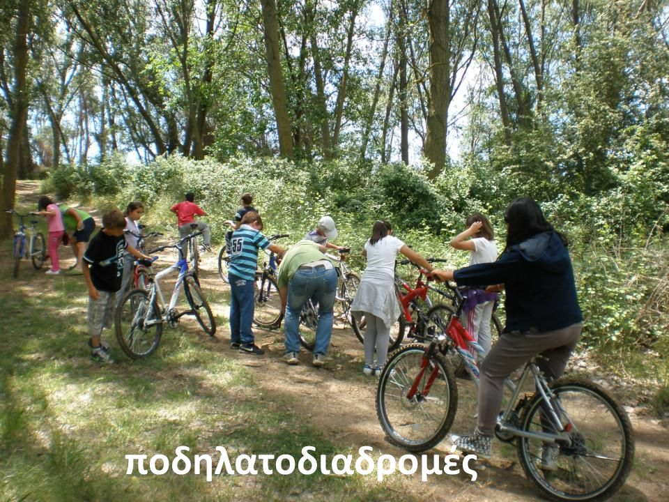 ποδηλατοδιαδρομές