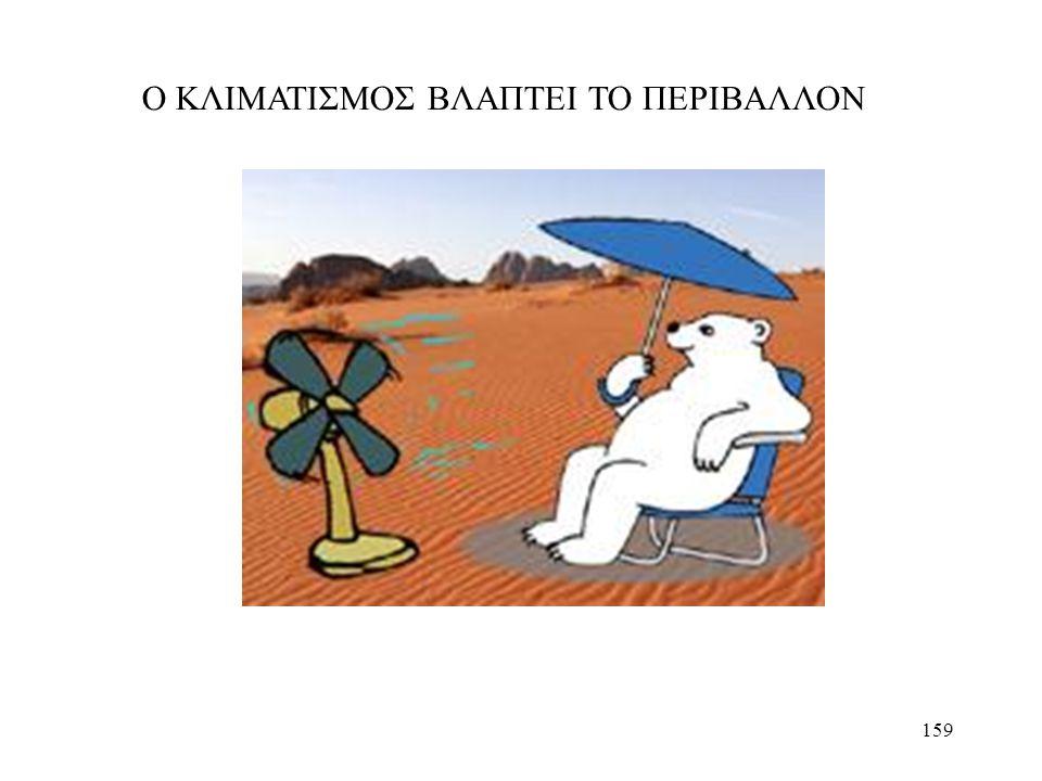 159 Ο ΚΛΙΜΑΤΙΣΜΟΣ ΒΛΑΠΤΕΙ ΤΟ ΠΕΡΙΒΑΛΛΟΝ