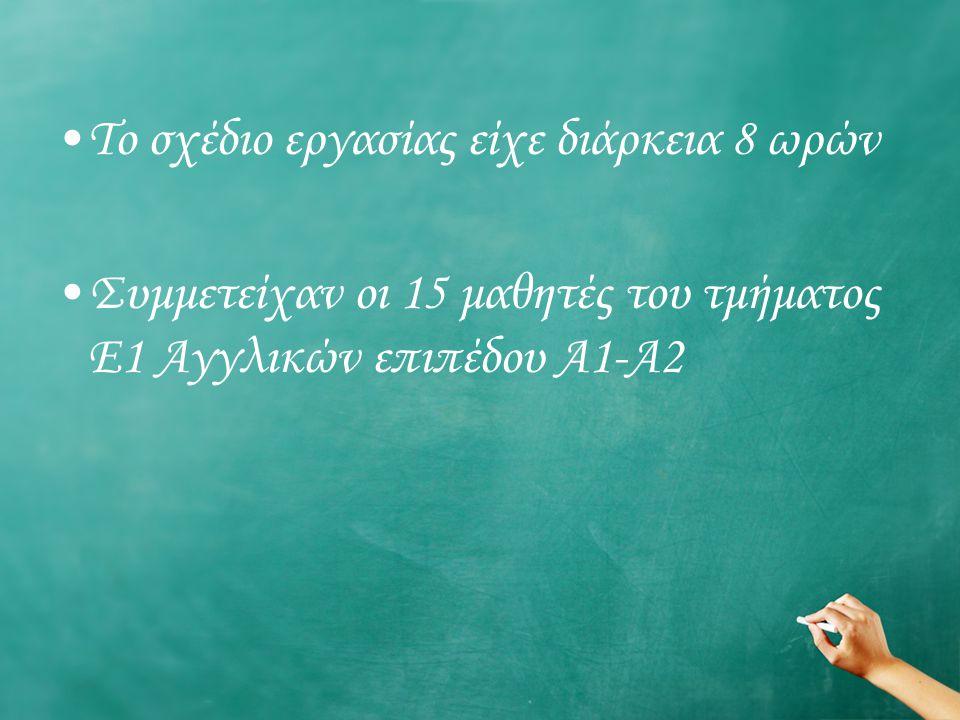 ΣΤΟΧΟΙ : Να προβληματιστούν τα παιδιά γύρω από την έννοια της εκπαίδευσης.