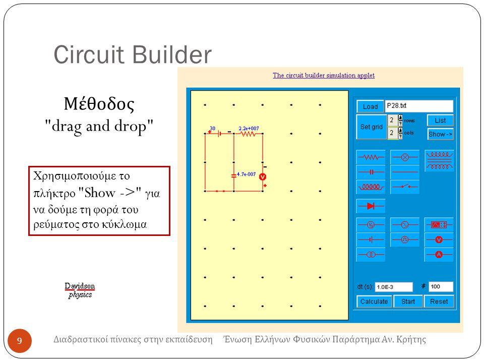 Circuit Builder 9 Μέθοδος