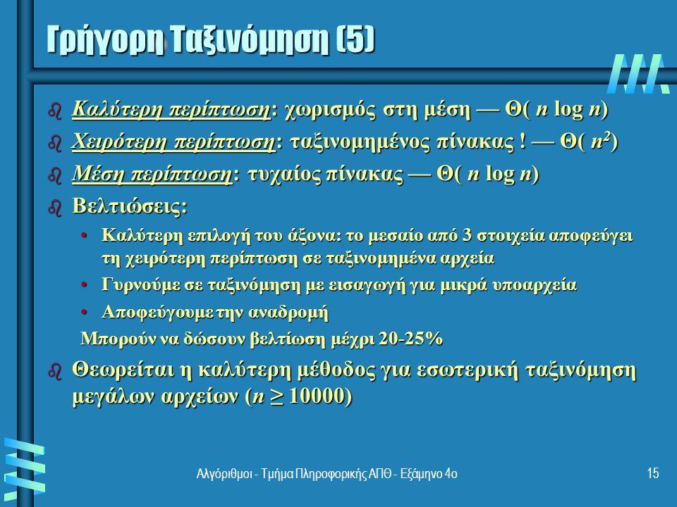 Πολλαπλασιασμός μεγάλων ακεραίων (1) b Για να πολλαπλασιάσουμε δύο ακεραίους με n 1 και n 2 ψηφία με το χέρι, θα εκτελέσουμε n 1 n 2 πράξεις πολλαπλασιασμού b Πρόβλημα όταν έχουμε πολλά ψηφία: A = 12345678901357986429 B = 87654321284820912836A = 12345678901357986429 B = 87654321284820912836 b Ας δούμε ένα απλούστερο παράδειγμα: 23*14, - Όμως 23 = 2.