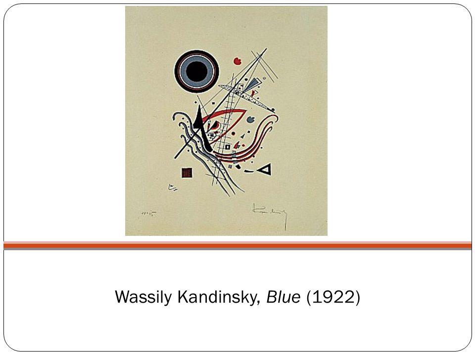 Wassily Kandinsky, Blue (1922)