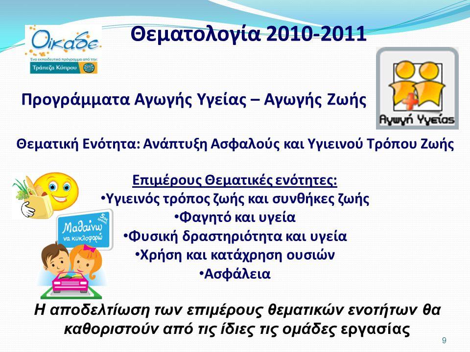 30 Ετοιμασία ημερολογίου και διάθεσή του σε όλους τους μαθητές της Στ΄τάξης όλων των δημοτικών σχολείων της Κύπρου