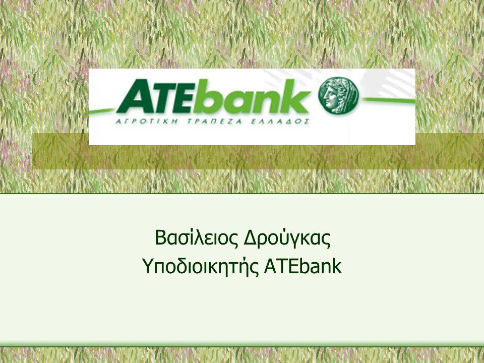 Βασίλειος Δρούγκας Υποδιοικητής ΑΤΕbank