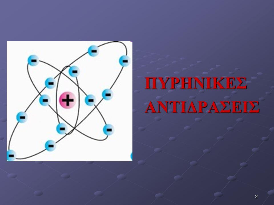 ΠΥΡΗΝΙΚΕΣΑΝΤΙΔΡΑΣΕΙΣ 2