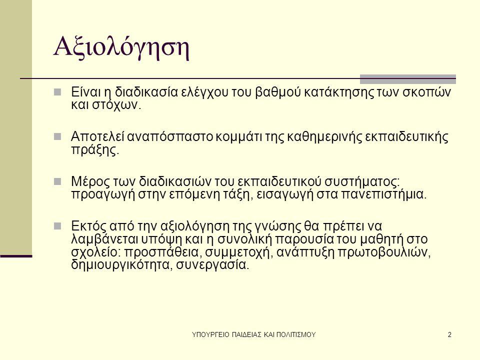 ΥΠΟΥΡΓΕΙΟ ΠΑΙΔΕΙΑΣ ΚΑΙ ΠΟΛΙΤΙΣΜΟΥ3
