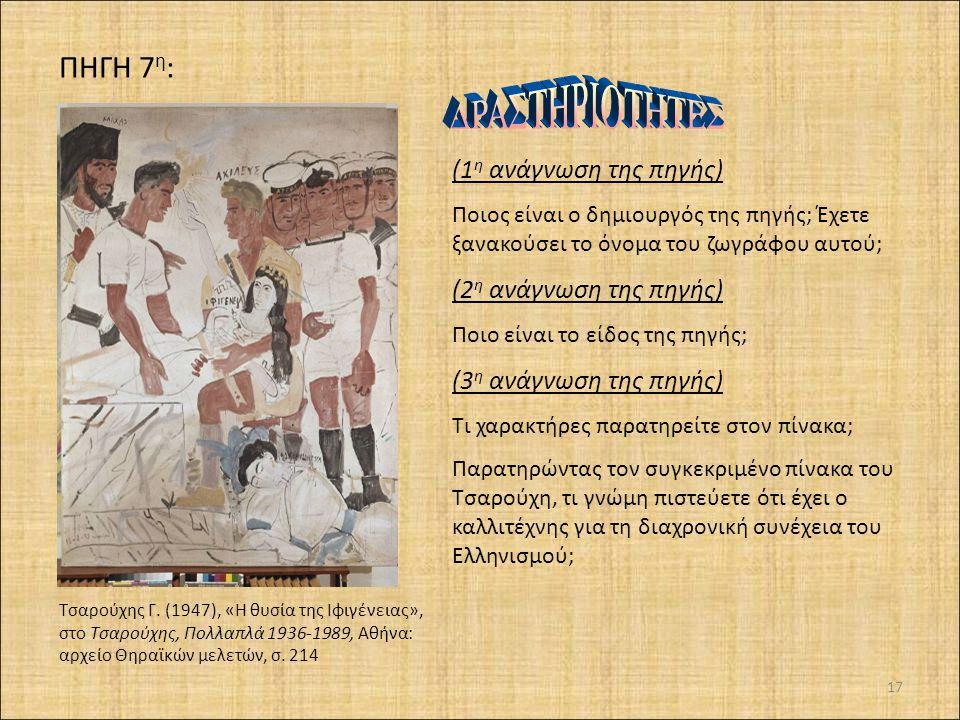 16 > Ανδριανόπουλος Α. (2007), «Τα δεσμά της παρελθοντολαγνείας και του εθνικισμού», Ελευθεροτυπία ΓΛΩΣΣΑΡΙ: εθνικισμός: υπερβολική και αποκλειστική π
