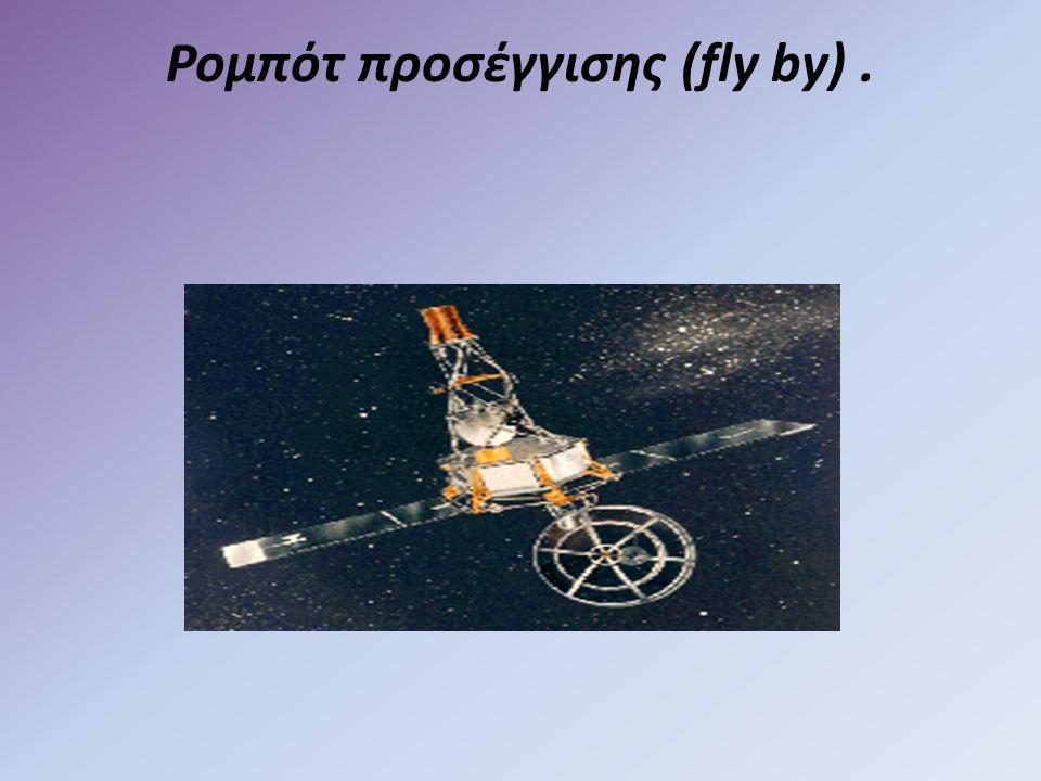 Ρομπότ προσέγγισης (fly by).