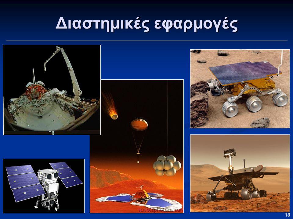 13 Διαστημικές εφαρμογές