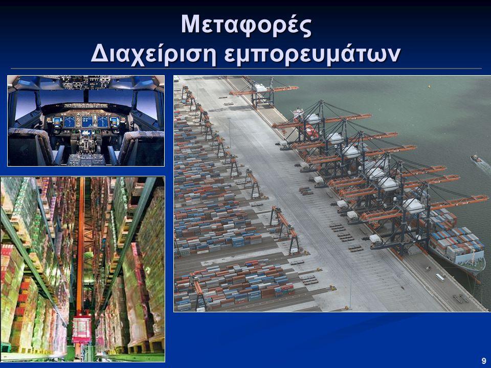9 Μεταφορές Διαχείριση εμπορευμάτων