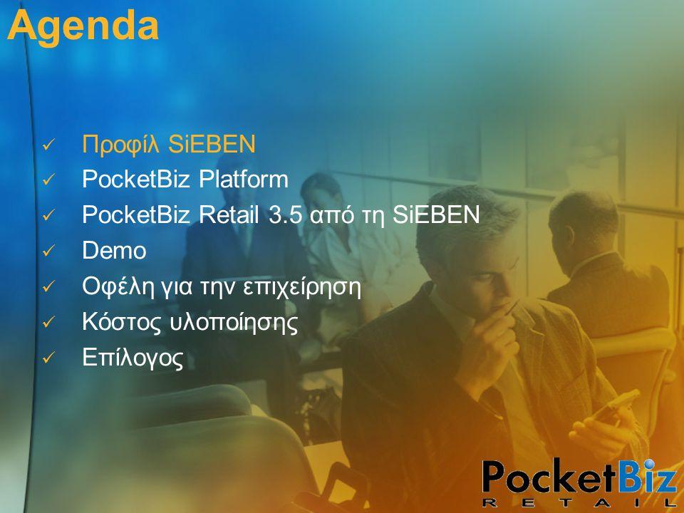 Κοστολόγηση υλοποίησης Άδειες χρήσης λογισμικού – Application Service Provision Παραγγελιοληψία Παραλαβές Απογραφή Έλεγχος τιμών στο ράφι PocketBiz ERP Connectivity 50 € / client 40 € / client 30 € / client 2.000€