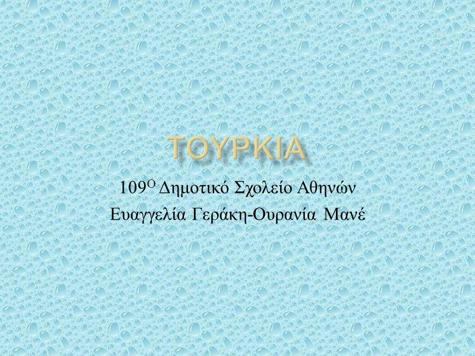 109 Ο Δημοτικό Σχολείο Αθηνών Ευαγγελία Γεράκη - Ουρανία Μανέ
