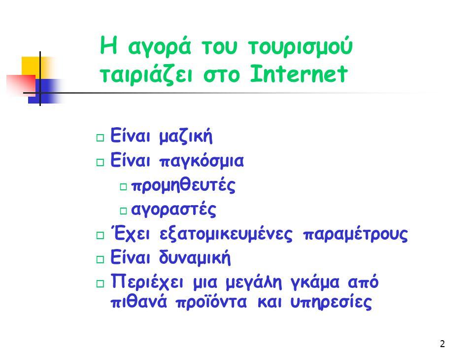 1 Αδάμ Δαμιανάκης Conceptum A.E. Tουριστικές και Πολιτιστικές Πληροφορίες στο Διαδίκτυο. Η περίπτωση του