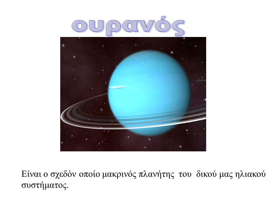 Είναι ο σχεδόν οποίο μακρινός πλανήτης του δικού μας ηλιακού συστήματος.