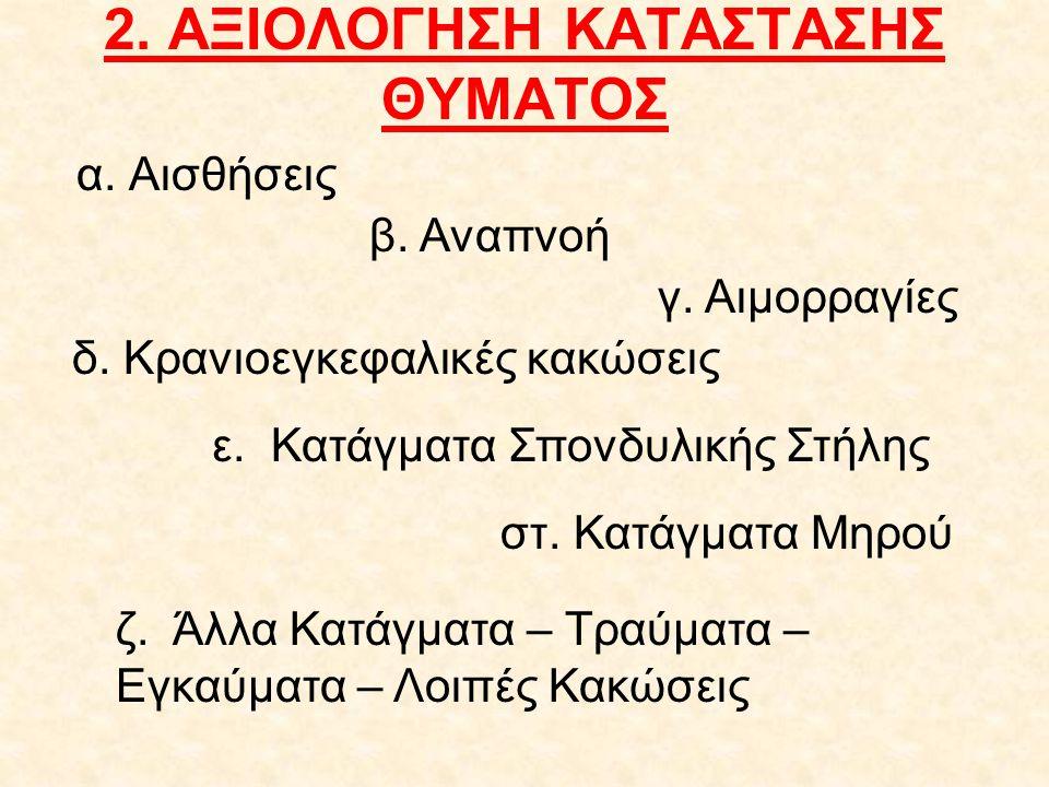 3. ΚΛΗΣΗ ΑΣΘΕΝΟΦΟΡΟΥ Α ν ά φ ε ρ ε : Ποιος Τι Που Πότε Πόσοι