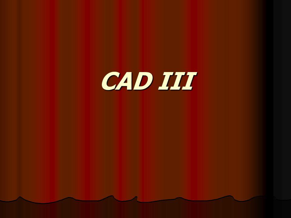 CAD III
