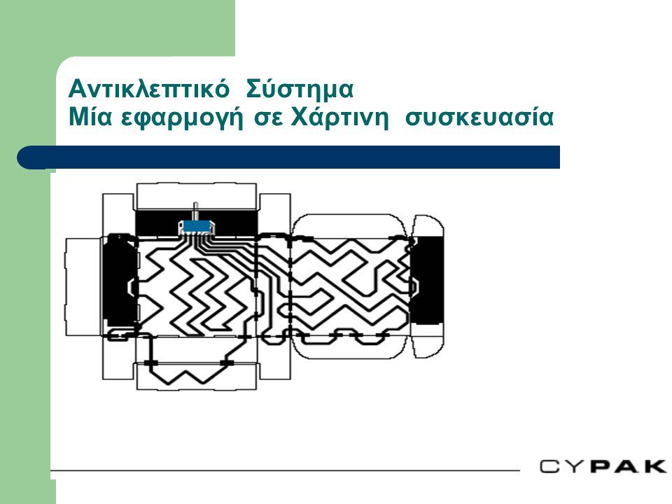 Αντικλεπτικό Σύστημα Μία εφαρμογή σε Χάρτινη συσκευασία