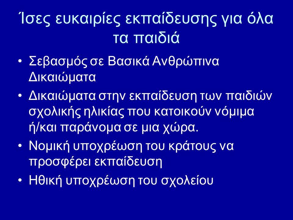 Δ: Αγωγή στην ειρήνη 1.Προώθηση της Ευρωπαϊκής Διάστασης.