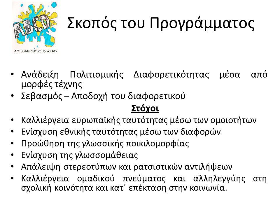 Ιστοσελίδα : www.abcdcomenius.info