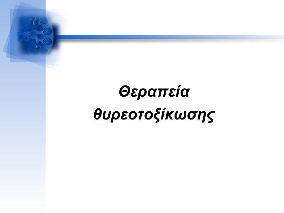 Θεραπεία θυρεοτοξίκωσης