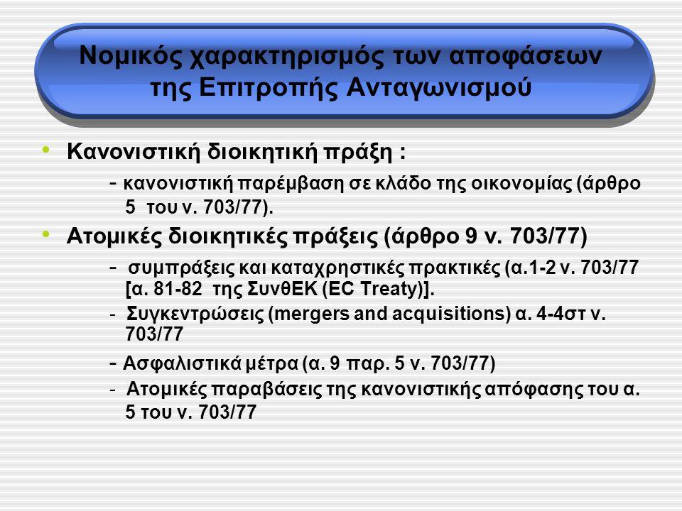 Υπαγωγική θεμελίωση του εννόμου συμφέροντος στη διοικητική προσφυγή του δικαίου του ανταγωνισμού Προσδιορισμός σχετικής αγοράς (relevant market) Ανταγωνιστική σχέση Διερεύνηση της Δυνατότητας Θεμελίωσης ανεξάρτητα από ανταγωνιστική σχέση