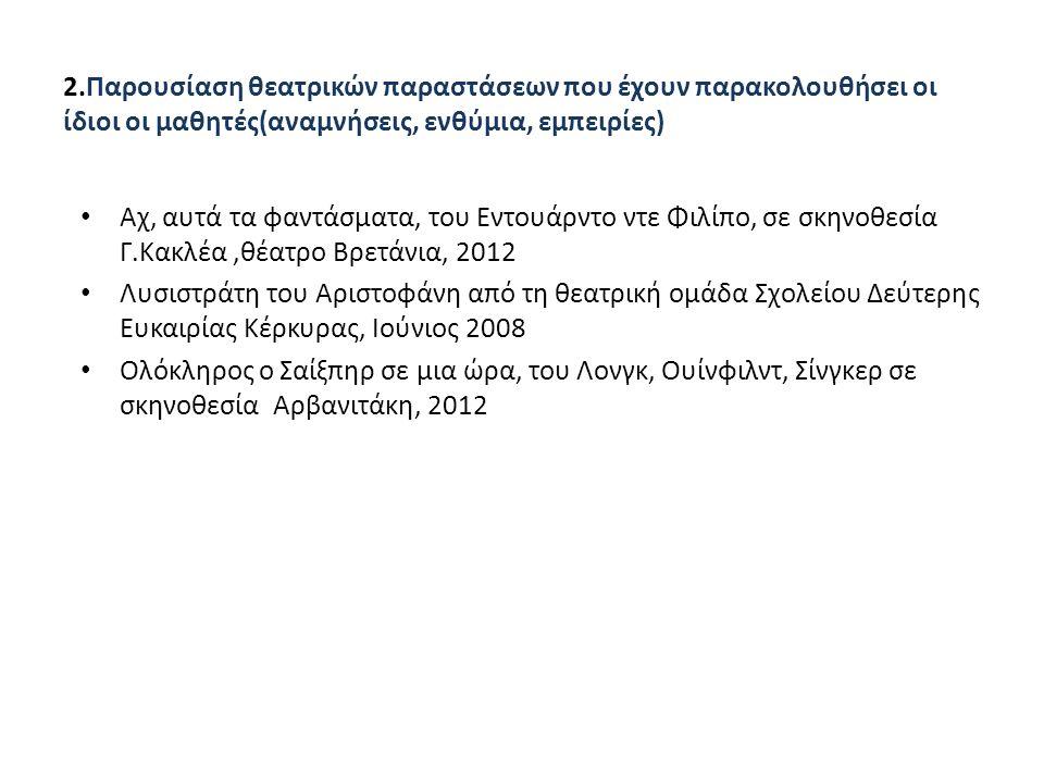 Σκούρτης Γιώργος :Οι νταντάδες Β΄ φάση : προσεκτική ανάγνωση Στοιχεία, πληροφορίες για το συγγραφέα(κριτικές, συνεντεύξεις) http://senariografoi.gr/gr/members/members-list/i76/ http://www.protoporia.gr/author_info.php?authors_id=909335 http://tsataki.blogspot.gr/2010/11/blog-post_9743.html Ιστορικό των παραστάσεων στην Ελλάδα «ΟΙ ΝΤΑΝΤΑΔΕΣ», Γ.ΣΚΟΥΡΤΗΣ,εκδ.